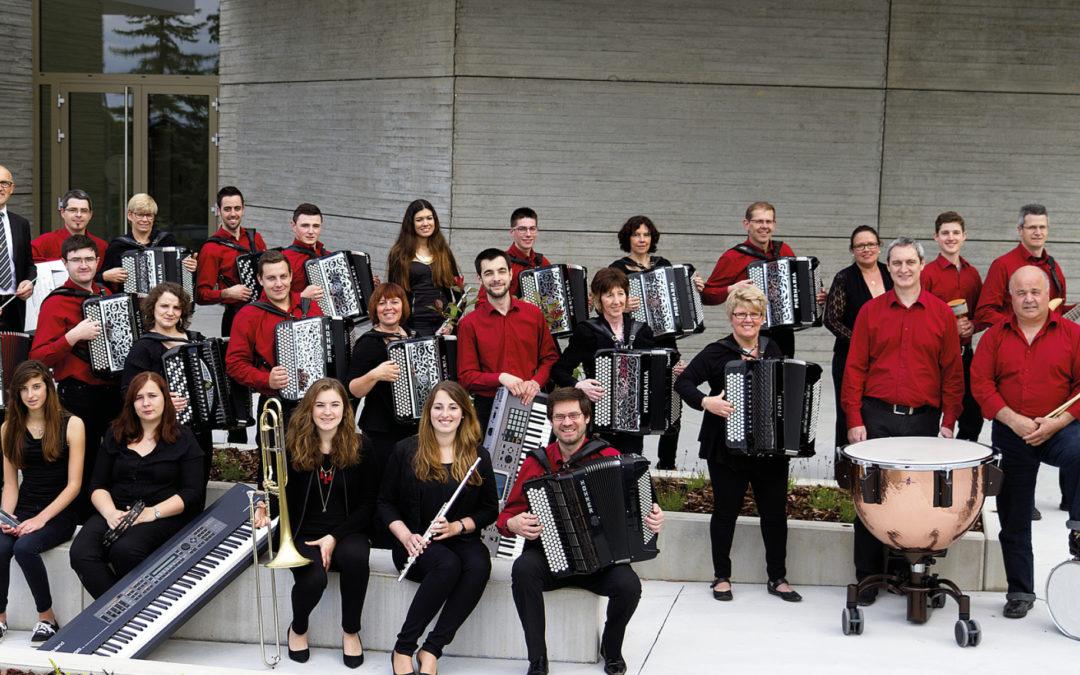 > SA 31 OCT 2020, L'orchestre d'Accordéons du Sundgau et son quintette