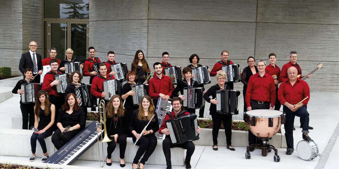 > VE 31 OCT : L'orchestre d'Accordéons du Sundgau et son quintette
